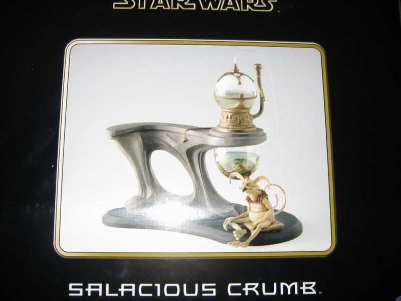 Salacious Crumb: Jabba's Hookah Pipe - Return of the Jedi - Limited Edition