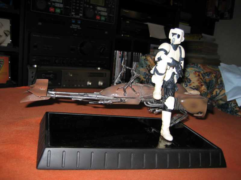 Scout Trooper on Speeder Bike - Return of the Jedi - Limited Edition