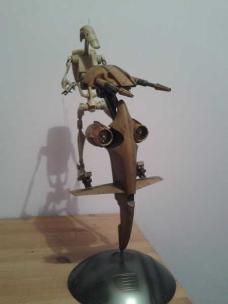 S.T.A.P. and Battle Droid - The Phantom Menace - Limited Edition);